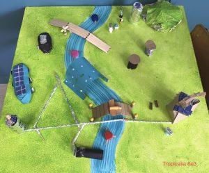 Tropicalia, une ville située sous les tropiques le long d'une rivière et conçue par une recherche sur la gestion de l'eau et de l'énergie